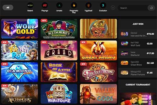 Slot games BetChan