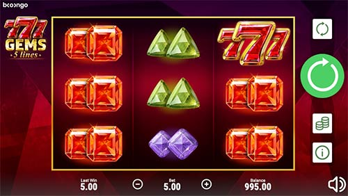 777 Gems from Booongo