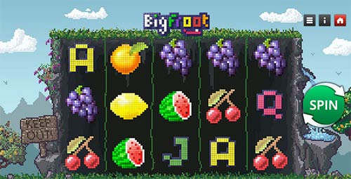 Bigfroot slot game from Genii