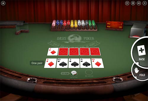 Oasis Poker from BGaming.