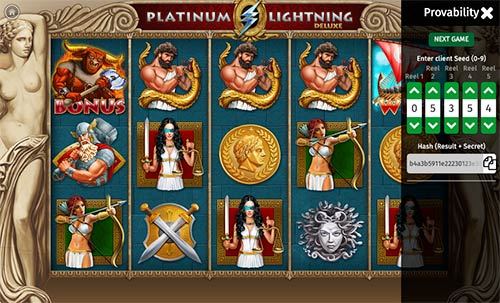 Platinum Lightning Deluxe BGaming
