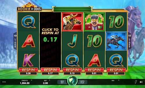 Bookie of Odds slot from Microgaming.