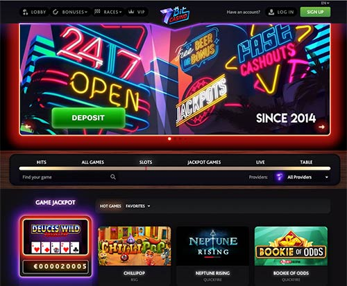 7bit Casino Review 2020 Features Facts And Bonuses