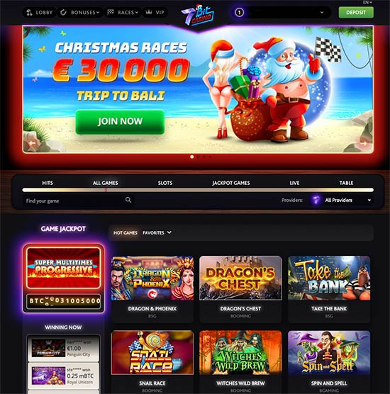 7Bit Casino looks
