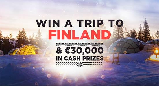Finland Trip Promo at BitStarz