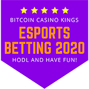 Esports Betting with Bitcoin 2020