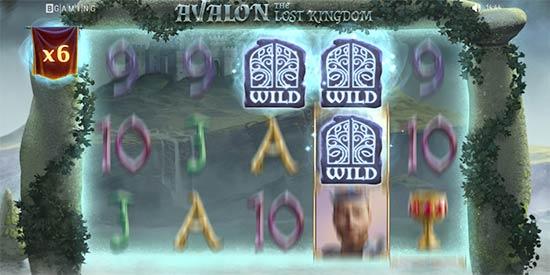 Avalon the Lost Kingdom Excalibur feature.