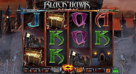 Black Hawk Deluxe slot from Wazdan.