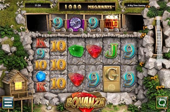 Bonanza slot from Big Time Gaming.