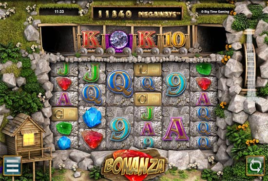 Bonanza bonus game.
