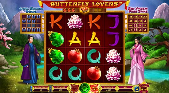 Butterfly Lovers slot by Wazdan