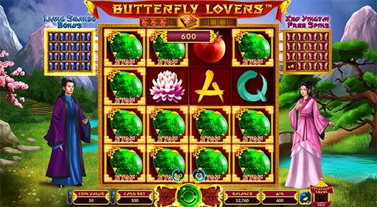 Butterfly Lovers bonus game.