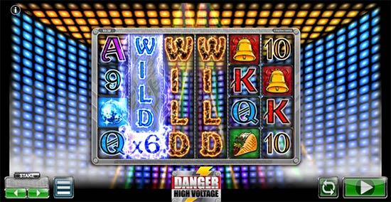 Big Time Gaming's slot Danger High Voltage