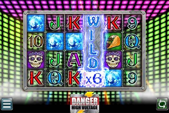 Danger High Voltage slot Big Time Gaming