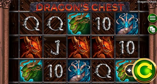 Dragon's Chest is a quite new dragon-themed fantasy slot game from Booming Games.