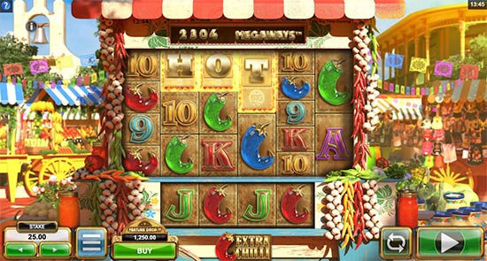 BIg Time Gaming's Extra Chilli slot.