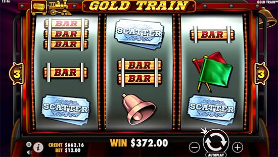 Gold Train slot.
