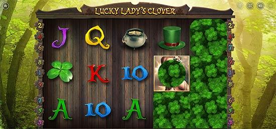 Lucky Lady's Clover slot Bonus Game.