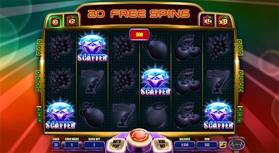 Lucky Reels bonus game.