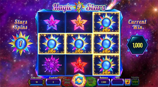 Magic Stars 9 bonus game