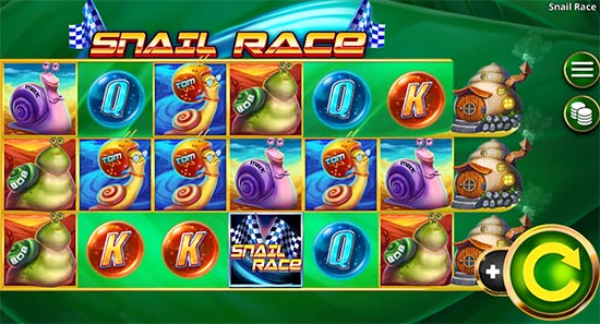 Snail Race slot from Booming Games.