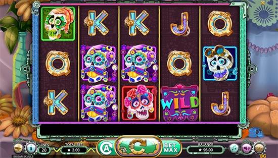 Sugar Skulls slot game from Booming Games