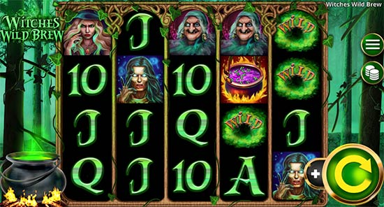 Witches Wild Brew slot game from Booming Games