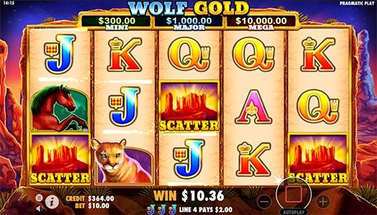 Wolf Gold slot.
