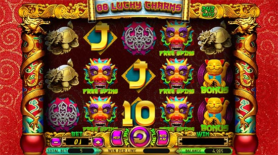 88 Lucky Charms slot by Spinomenal.