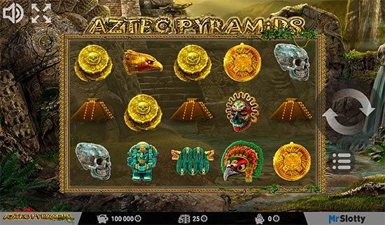 Aztec Pyramids slot from MrSlotty.