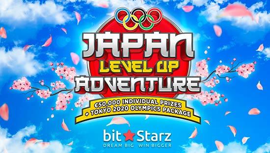 BitStarz Japan Level Up Adventure