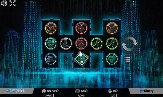 CryptoMatrix slot by MrSlotty.