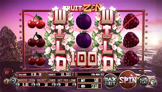 Fruit Zen slot game Betsoft.