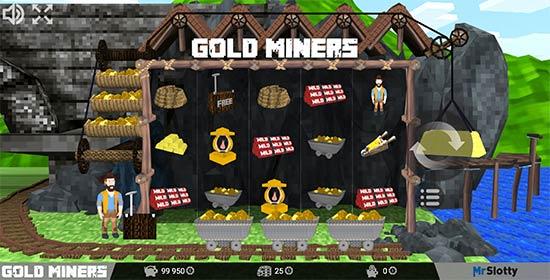 Gold Miners slot MrSlotty