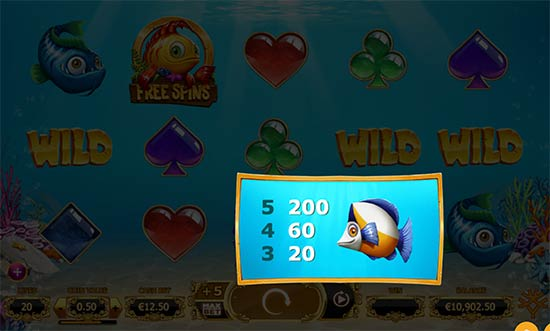 Golden Fish Tank slot by Yggdrasil.