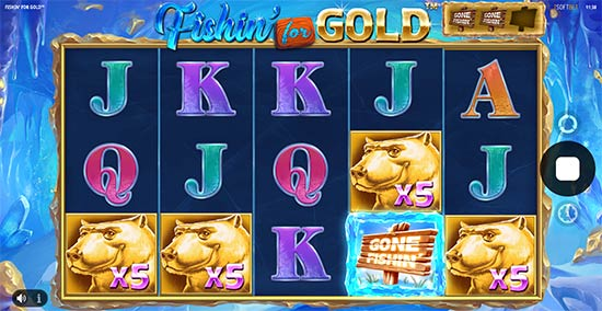 Fishin' for Gold slot by iSoftBet.