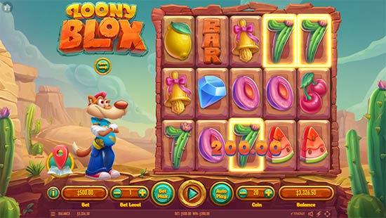 Loony Blox slot by Habanero.