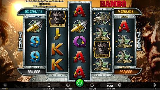 Rambo slot by iSoftBet.