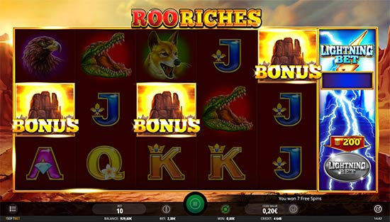 Roo Riches slot by iSoftBet.