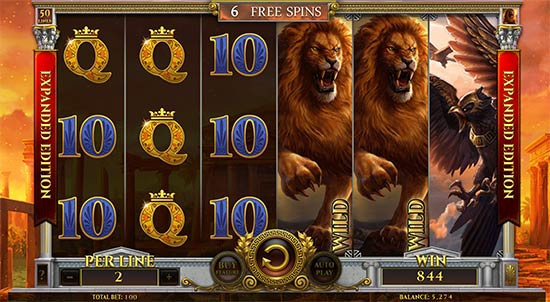 Story of Hercules slot from Spinomenal.