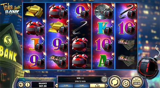 Take the Bank slot from Betsoft.