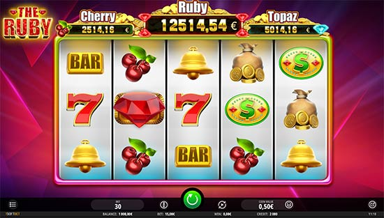 The Ruby slot by iSoftBet.