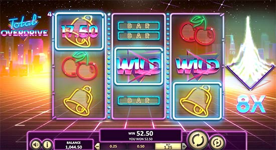 Total Overdrive slot from Betsoft.