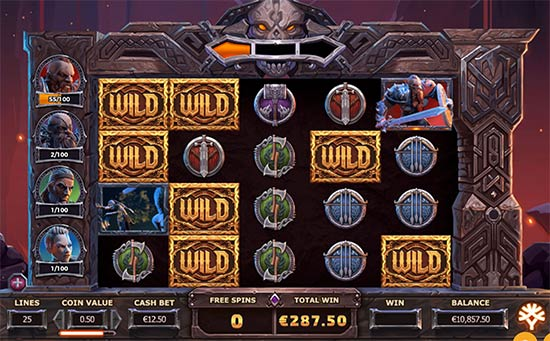 Vikings go to Hell slot by Yggdrasil.