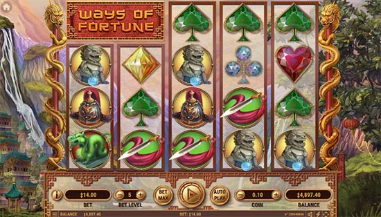 Ways of Fortune slot by Habanero.