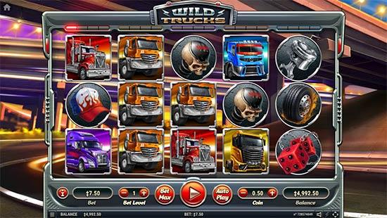 Wild Trucks slot from Habanero.