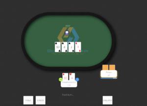 Playing poker at Blockchain Poker
