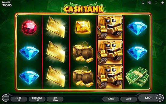 Cash Tank slot by Endorphina.