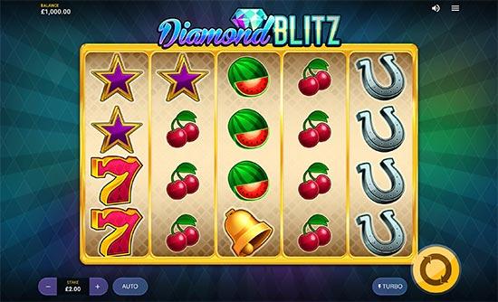 Diamond Blitz slot by Red Tiger Gaming.