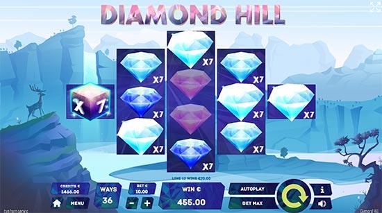 Diamond Hill slot by Tom Horn Gaming.